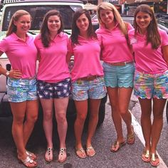 I would die if these were recruitment outfits LILLY shorts