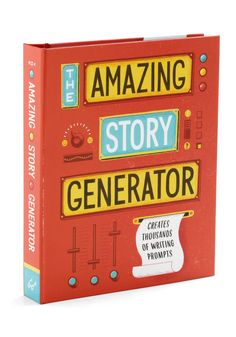 The Amazing Story Generator by Chronicle Books - Multi, Scholastic/Collegiate, Top Rated. modcloth