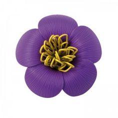 #Держатель скрепок Blossom Qualy Фиолетовый