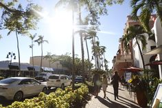 Pedestrians walk down fifth avenue, a popular streets with several restaurants and stores in Naples on Monday, October 5th Avenue, White Sand Beach, Pedestrian, Water Sports, Naples, Things To Do, Restaurants, October, Fair Grounds