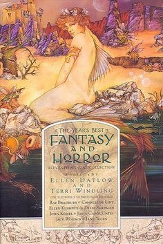 THOMAS CANTY -  THE YEAR'S BEST FANTASY AND HORROR 1998