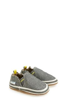 Robeez® 'Noah' Crib Shoe (Baby & Walker) available at #Nordstrom