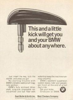 1966 BMW Advertisement.