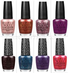 OPI Mariah Carey collection. I have all 4 of the Liquid Sand and the sparkly one. LOVE THEM ALL!!!!