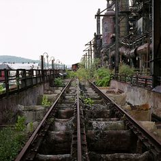 Bethlehem Steel, Bethlehem, PA- not really abandoned bc i work at the casino built atop it... really not a pretty site