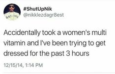 Women take time to dress up because they want to look good, unlike you assholes who just slap on a greasy sweatsuit