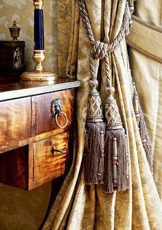 luxurious decorating fabrics for draperies