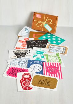 Lovely Things in Life Notecard Set