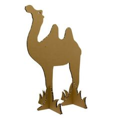 Cardboard Camel, good for the Youth to make for the Fellowship Hall