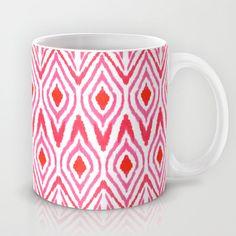 Ikat Watermelon Mug + free shipping ends 26/1/2014