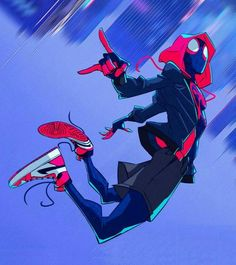 Marvel Drawing Spider-Man crosses parallel dimensions and teams up with the Spider-Men of those dimensions to stop a threat to all reality. Marvel Art, Marvel Dc Comics, Marvel Heroes, Marvel Avengers, Ultimate Spider Man, All Spiderman, Miles Morales Spiderman, Heros Comics, Marvel Wallpaper