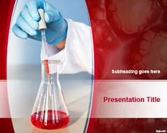 FreeLaboratory Analysis PowerPoint Template is a free red background template for PowerPoint presentations that you can download to prepare awesome slide designs for science projects and lab