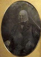John Quincy Adams, 1846. Daguerreotype.