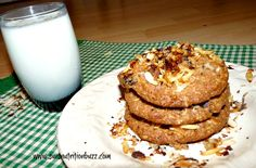 Quinoa Almond Coconut Cookies For World Diabetes Day  #GlutenFree