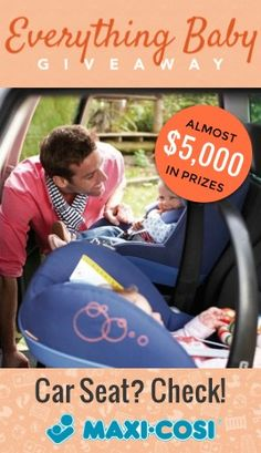 Enter to #win a mico AP from #Maxi-Cosi--one of the sleekest, most stylish, and of course, safest, car seats out there. Enter at wee.co/win today!