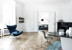 BoConcept 2015 Collection––Emola Armchair––Adelaide Dining Chair––Kuta Lamp––Milano Dining Table––Elegance Rug. *All products available in different materials and surfaces. http://www.boconcept.com/en-nz/
