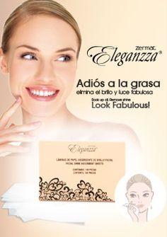 Laminas de Papel Absorbente de Brillo! #Facial Shine #Absorbent Sheets! #Eleganzza #EleganzzaMakeup #Shine
