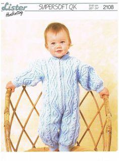 boy//girls 20-24 inch choose PDF//PAPER Baby DK vintage  knitting pattern COPY