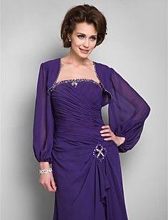 Long Sleeve Chiffon With Beads Evening/Wedding Wrap/Jacket (... – USD $ 39.99