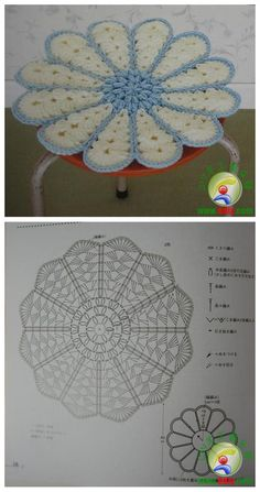 CROCHET CIRCULAR Closed Center FLOWER GRANNY SQUARE CIRCLE WITH DIAGRAM (Chinese) #2 | The Landing Website is just China's version of Pinterest so fyi NO Real HELP! | ~~ https://www.pinterest.com/bonniebuchanan ~~