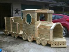 Train being built for the Children's activities!