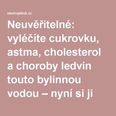 Neuvěřitelné: vyléčíte cukrovku, astma, cholesterol a choroby ledvin touto… Samos, Heart Health, Cholesterol, Diabetes, Diabetic Living