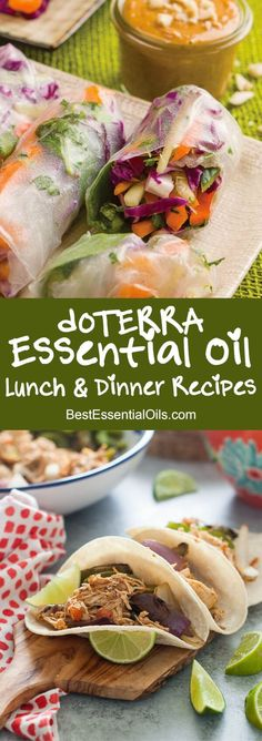 Here are the 50 Best doTERRA Essential Oil Lunch and Dinner Recipes. You can flavor your recipes with essential oils, no chopping dicing or grating.