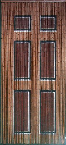 Wooden Door Beaded Curtain 125 Strands Hanging Hardware By Abeadedcurtain 55 19
