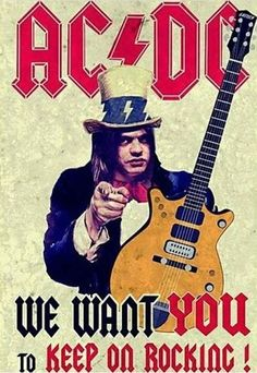 "Rest in peace Malcolm ""the Great""  Young \m/Forever\m/"