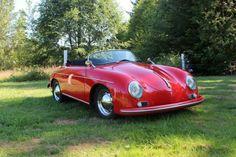 1957 Porsche Speedster. My dream car.