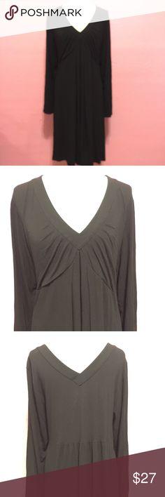 Plus size black long sleeve dress 3xl Plus size black long sleeve dress 3xl INC International Concepts Dresses Long Sleeve