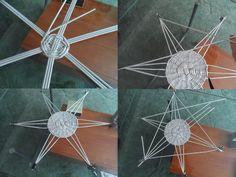 Sziasztok! Mai napi mini lecke ('16.10.17.) Az alábbi képeken egy 6 ágú csillag alakú tálca készítése kerül bemutatásra. Nem könnyű, így haladóknak ajánlott  Share