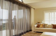 Quality custom-made curtains and blinds in Perth are yours when you order from Aussie Curtain Call Interiors. Wave Curtains, Zebra Curtains, White Sheer Curtains, Cool Curtains, Curtains Living, Colorful Curtains, Blinds For Windows, Curtains With Blinds, Custom Made Curtains