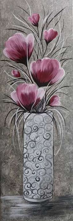 Join us at Pinot s Palette - Spokane on Sun Jun 24 2018 3 for Bouquet of Elegance Seats are limited reserve yours today Simple Acrylic Paintings, Acrylic Art, Art Sur Toile, Acrylic Flowers, Beginner Painting, Pictures To Paint, Painting Inspiration, Painted Rocks, Flower Art