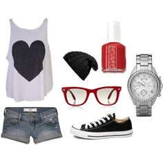 Summer Concert Outfit, created by rilek on Polyvore