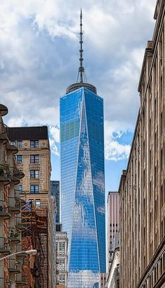 One World Trade Center, New York-It's beautiful but I still miss the old ones and always will! :(