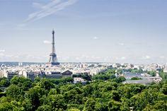 La splendide vue de Paris, du haut de la Grande Roue de la fete foraine des Tuileries 2013