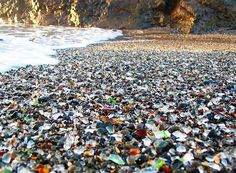 """Cool Beaches Series #2 - """"Glass Beach"""", Redwood Forest Hike, and Food - SF Bay…"""