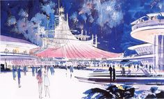 Image result for epcot space mountain ad