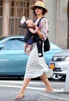 Maggie Gyllenhaal and daughter Gloria