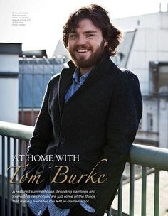 Intervista a Tom Burke - Aprile 2014 - Interviste a Tom Burke