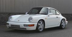 Beautiful white Porsche 964 RS