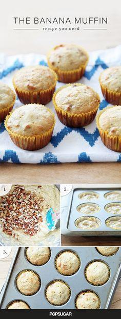 Banana Nut Muffin Recipe | POPSUGAR Food