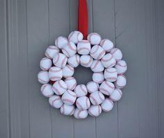Baseball Wreath DIY