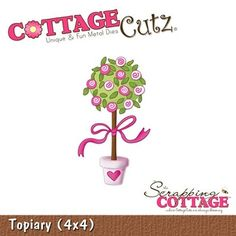 Cottage Cutz-4x4 Dies-Topiary      Item Number: COT-4x4-164  Your Price: $19.95