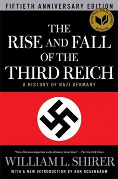 The Rise and Fall of the Third Reich: A History of Nazi Germany. (My mom is letting borrow her copy. I thought I needed to challenge myself.)