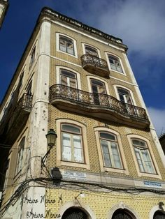 Edificio típico en Coimbra.