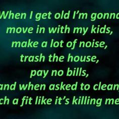 ;)  well now that they are older it is not so bad..my youngest and my oldest are gonna get visits from me the longest...LOL