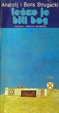 awesome cover for strugatsky bros novel