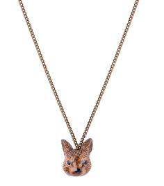 Rabbit Head Necklace